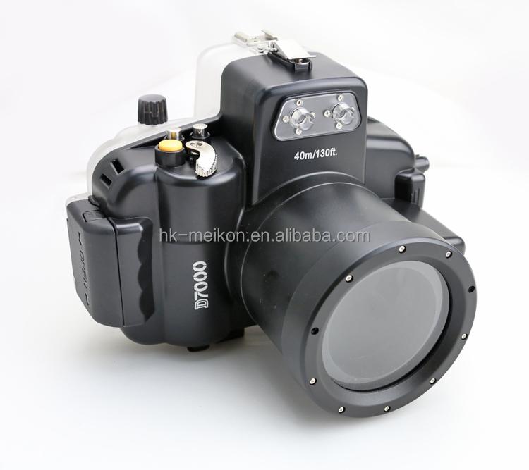 Newest underwater diving case waterproof camera housing for DSLR camera Nikon D7000