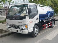 Cheap best sell big vacuum sewage suction truck