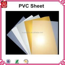 A4 300 micron white/golden/silver color inkjet printable pvc plastic sheet