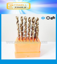 25PCS HCO M35 Twist Drill Bits Set For Stainless Steel