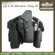 True Adventure TC-C058 Wholesale Hunting Accessories Army Military leather gun holster