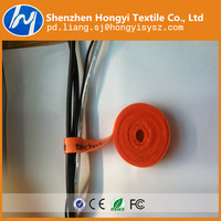 Customized multipurpose hook and loop tape for velcro cable tie