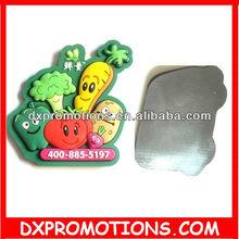rubber 3d pvc fridge magnet /3d magnets for fridge promotional