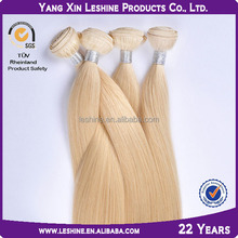 Wholesale 100% Human Double Drawn Light Golden Brown Hair Color