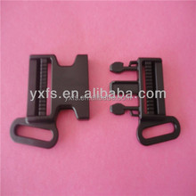 2015 hot seller CK234 20mm/38mm plastic 4-way safety buckle/ plastic side release baby car seat belt buckle
