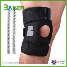 Sports protective adjustable neoprene weightlifting knee pad