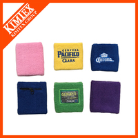Wristbands factory professional custom sports cotton knit wristband