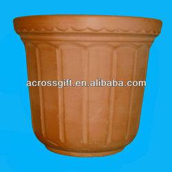 Handmade terracotta clay pots