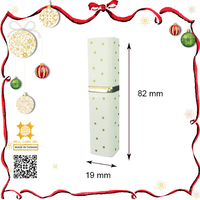 Cute pointspeck and white refillable cosmetics bottle 5ml perfume sprayer