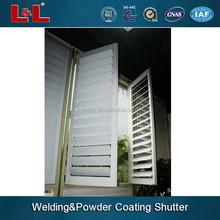 aluminum sun shade windows,Chinese manufacturer,powder coating skill