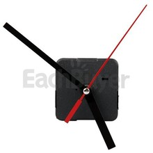 Cheapest DIY Quartz Clock Movement Mechanism Repair Parts accessories Black + Hands