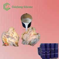 Cheap price liquid silicone rubber for plaster casting cornice mold