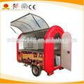 Hot De Comidas carros, carritos de comida compra venta con la rueda grande y barra de remolque De Comidas Carros