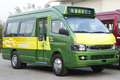 Minibús CKZ6581N4 gnc minibús