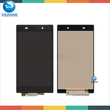 Wholesale Original LCD Touch Screen Digitizer For Sony Xperia z1 L39h c6902 c6903 c6906, For Sony Xperia Z1 LCD Screen Assembly