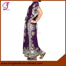 0430501 2015 New Arrival Dubai Woman Cotton Full Length Moroccan Kaftan For Sale