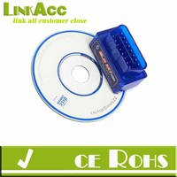 Linkacc-th79 Mini ELM327 V1.5 OBD2 II Bluetooth Diagnostic Car Auto Interface Scanner CD