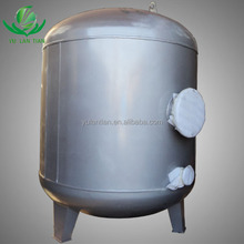 Widely used in factory/wild/journey etc units Carbon steel Pressure Tank/Vessel for Water Treatment