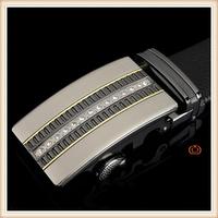 Fashion unisex genuine leather chastity belt