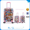 2015 china alibaba new flight hardshell ABS+PC boarding bag suitcase luggage travel bag cases