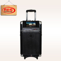 Touch screen 10 inch outdoor portable bluetooth speakers with USB/SD/DVD