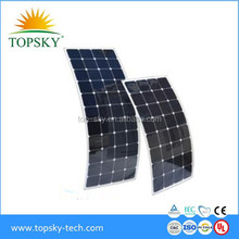 High Efficiency 200W Flexible Solar Panels,15W to 200W Flexible Solar Panels/Modules with SUN POWER CELLS