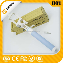 New Products For 2015 No Need Charger Selfie Stick Extendable Monopod