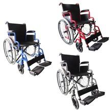 Chrome wheelchair, European standard wheelchair, orthopedic wheelchair