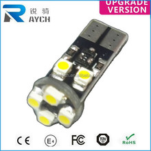 Combo T10/168/194 LED 8 SMD Canbus Error-Free No-Warning White Light W5W Bulb