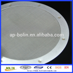 Alibaba Chian 60 Micron Stainless Steel Filter Disc Wire Mesh for Aeropress Coffee Maker