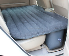 Hot!!!the most popular inflatable gray car back seat bed , inflatable air mattress for car