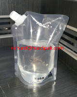 stand up liquid bag with spout
