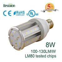 8w plastic halide led replacement E39 E40 led light bulb