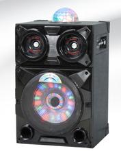 rechargeable pa speaker horn speaker 300w waterproof solar speaker