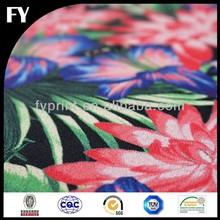 Fashionable design digital printed handkerchief cotton fabric