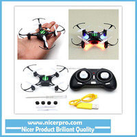 Radio Control H8 Mini Headless Mode 2.4G 4CH 6 Axis RC Quadcopter Helicopter RTF Remote Control Toy