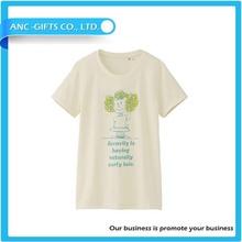 Woman Custom T-shirt Printing Fashion T-shirt 2015 Cheap high-quality in-stock China factory T-shirt for women