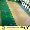 Hot sale indoor usage PVC basketball court flooring