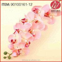 Customized best sell artificial flower orchids bonsai