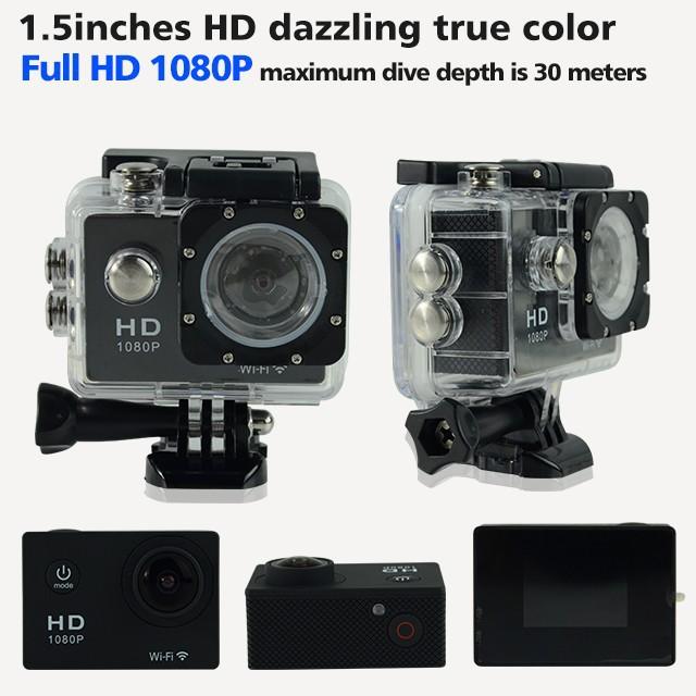 2 м / 5 м / 8 м / 12 м Full HD 1080 P водонепроницаемый Wifi Sj5000 камера спорта