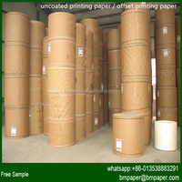 Best price offset printing roll paper sizes