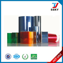 Clear Transparent PVC Roll 1mm Thick PVC Roll Matte Frosted Kind Surface