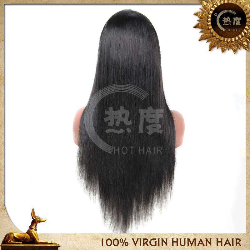 Good Quality Human Hair Full Lace Wig 89