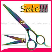 Special Price For Titanium Multicolour hair salon scissors TD-D255(Ti)