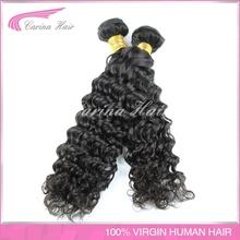 Brazilian virgin hair weave deep wave nature color 100g/piece lowest price