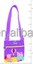 Purple Children Cute Peppa Pig Handbag
