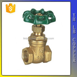 China supplier ANSI125LB Non Rising Stem Gate Valve /Cast Iron,Bronze,Brass,Stainless Steel LINBO-C658