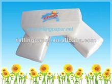 Disposable tissue napkins