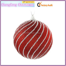 Diseño personalizado varios tamaños navidad bola de nieve decorativo