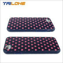 cute tpu& pc phone cases and cover for slim iphone 6 case